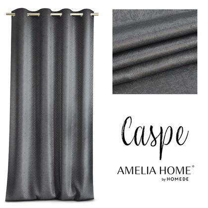 Zasłona BLACKOUT CASPE antracytowa 140 x 250 cm