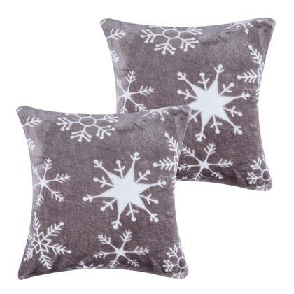 Poszewki na poduszki z mikroflaneli SNOWY 40 x 40 cm 2 szt.
