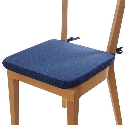 Poduszka siedzisko z możliwością prania niebieska, 1 szt.