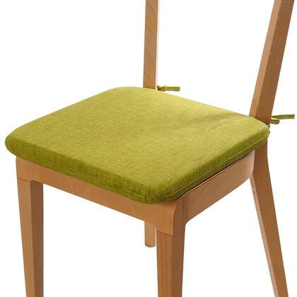 Poduszka siedzisko z możliwością prania zielona, zestaw 4 szt.