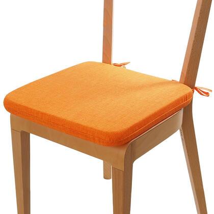 Poduszka siedzisko z możliwością prania pomarańczowa