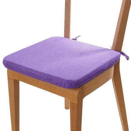 Poduszka siedzisko z możliwością prania fioletowa, 1 szt.