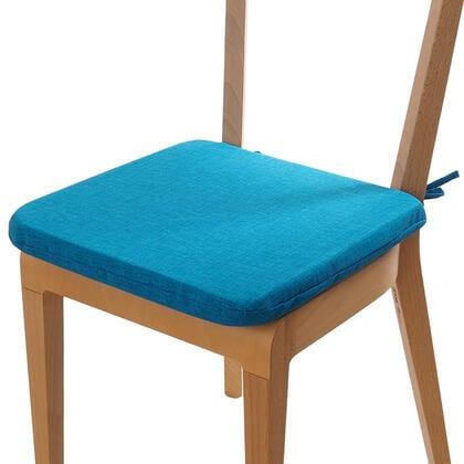 Poduszka siedzisko z możliwością prania lazurowa