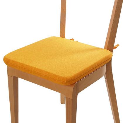 Poduszka siedzisko z możliwością prania żółta