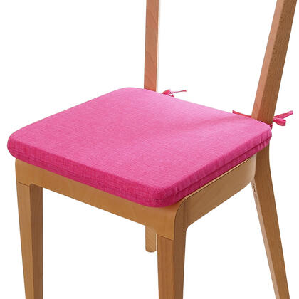 Poduszka siedzisko z możliwością prania różowa