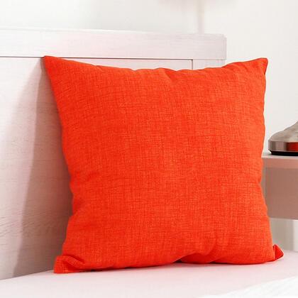 Poduszka dekoracyjna BESSY 45 x 45 cm pomarańczowa, zestaw 2 szt.