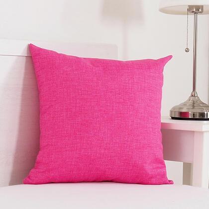 Poduszka dekoracyjna BESSY 45 x 45 cm różowa