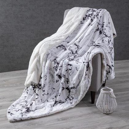 Barankowy koc z mikrowłókna MARMUR 140 x 200 cm