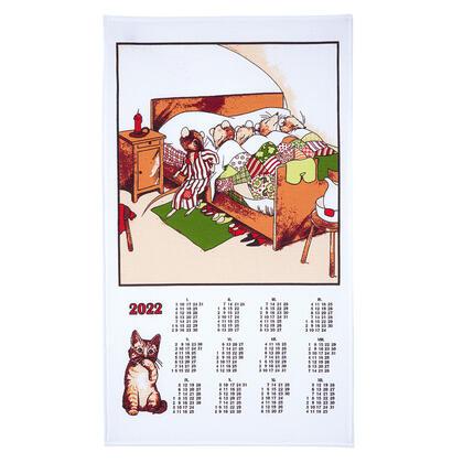 Ściereczka - kalendarz Myszki 2022