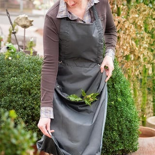 Fartuch ogrodowy z kieszenią do przechowywania