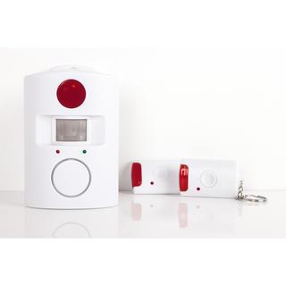 Bezprzewodowy alarm domowy