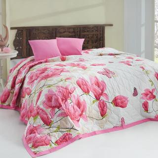 Narzuta na łóżko Alize Pink różowa