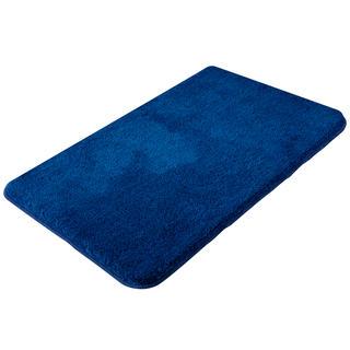 Dywanik łazienkowy Exclusive pasemki niebieskie