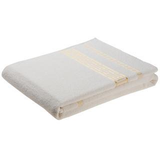 Ręcznik kąpielowy Ateny bawełniany frotte, kremowy