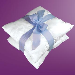 Wypełnienie poduszek 100% bawełna 40 x 40 cm 2 szt.