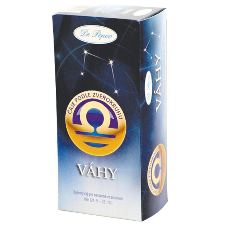 Herbata ziołowa według znaku zodiaku – Wagi, Dr. Popov
