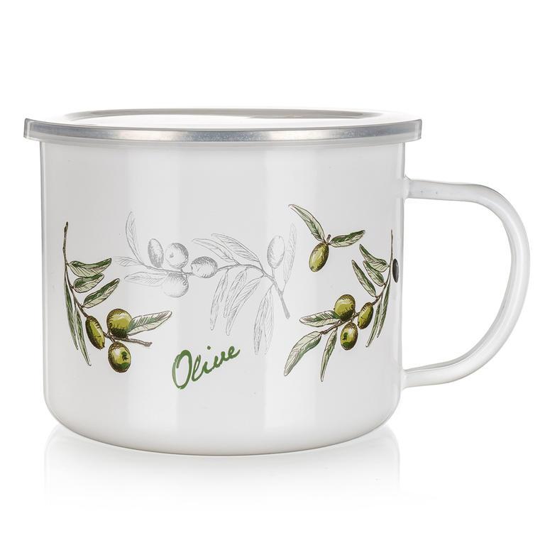 Kubek emaliowany 0,5 L Olives, BANQUET