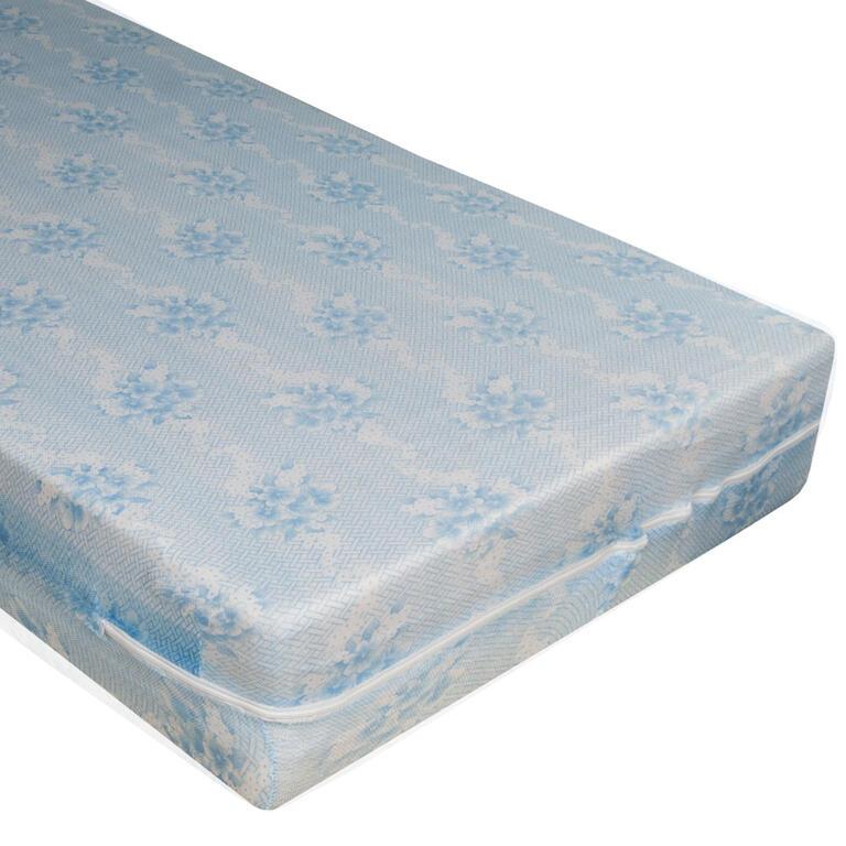 Pokrowiec elastyczny na materac z suwakiem Alba