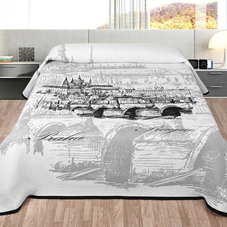 Narzuta na łóżko PRAGA łóżko pojedyncze