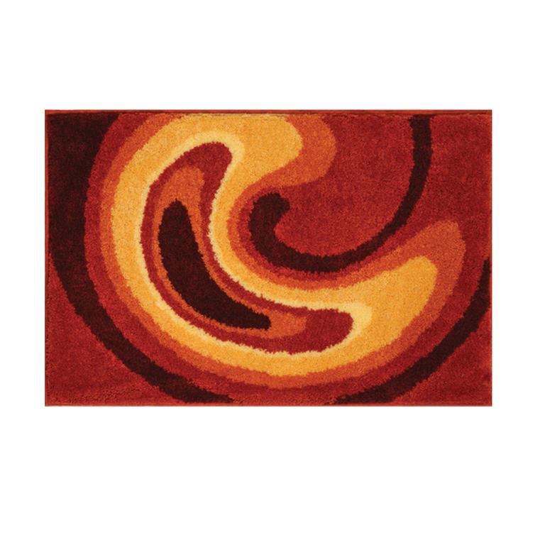 Dywanik łazienkowy GOBE pomarańczowy dywanik pod wannę